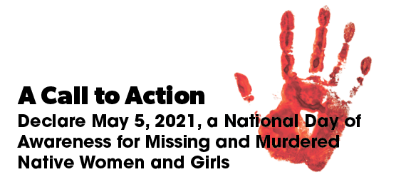 A Call to Action for May 5th National Day of Awareness for MMIWG