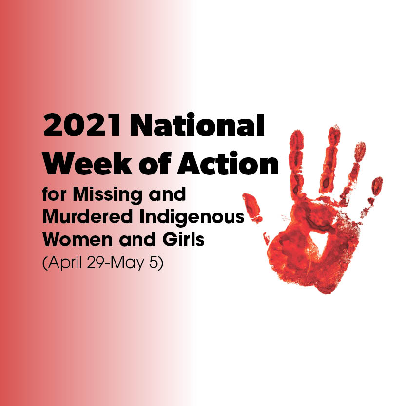 2021 National Week of Action for MMIWG