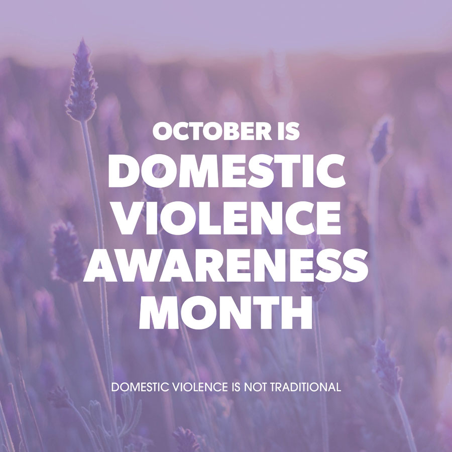 Help Recognize Domestic Violence Awareness Month This October