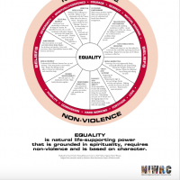 Nonviolence Equality Wheel