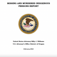 Missing and Murdered Indigenous People Report, District of Oregon U.S. Attorney's Office