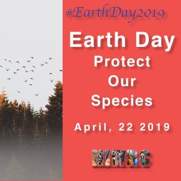 Earth Day 2019—Protect our Species
