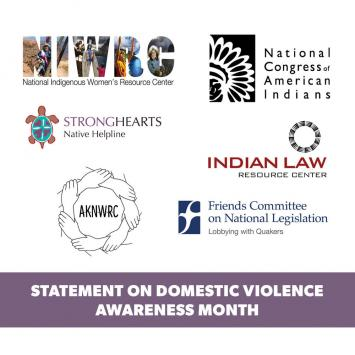 DVAM Joint Statement logo